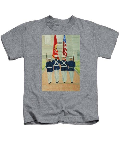 Color Guard Kids T-Shirt