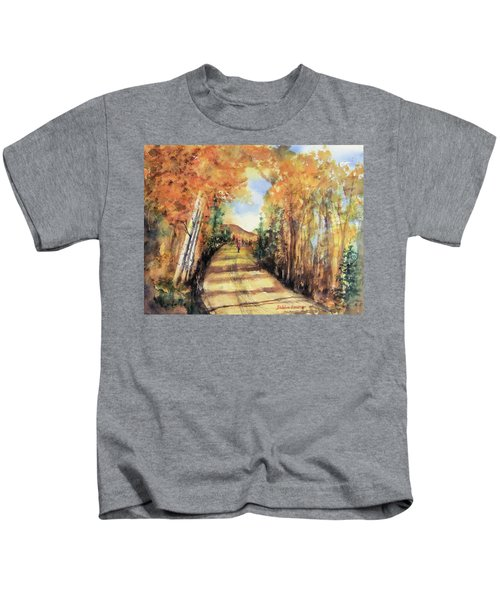 Colorado In September Kids T-Shirt