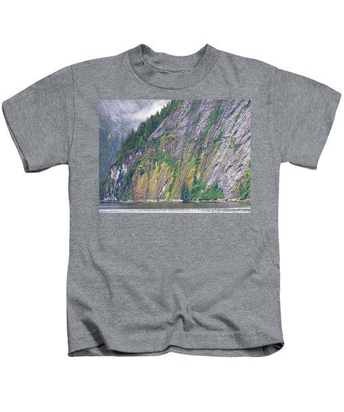 Colors Of Alaska - Misty Fjords Kids T-Shirt