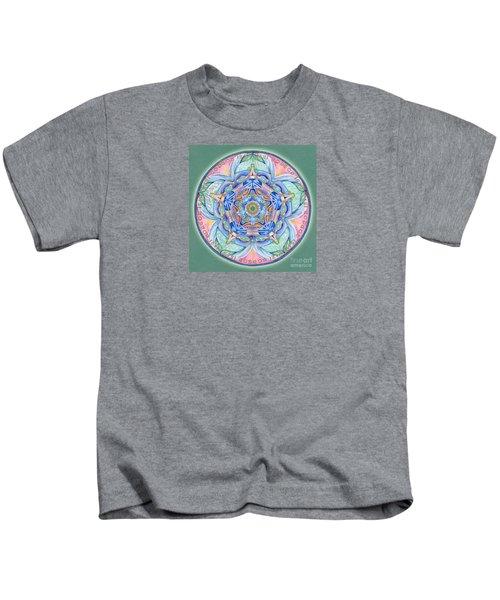 Compassion Mandala Kids T-Shirt
