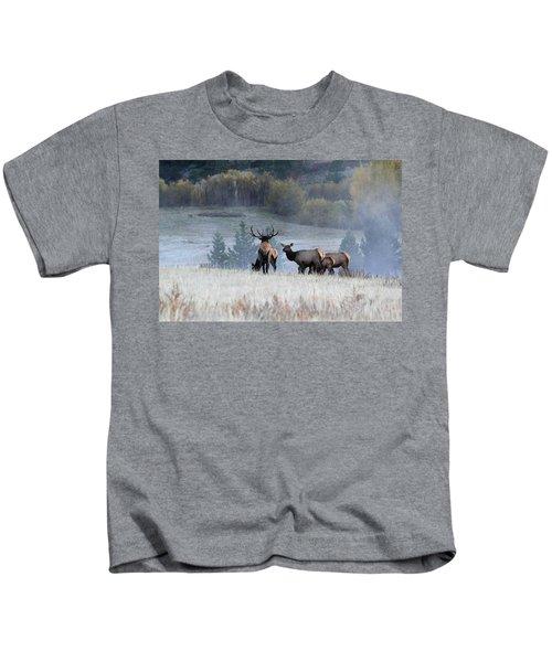 Cool Misty Morning Kids T-Shirt