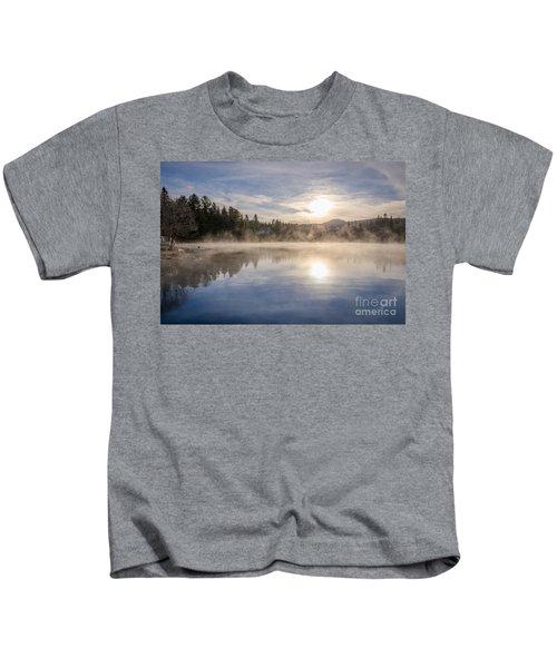 Cool November Morning Kids T-Shirt