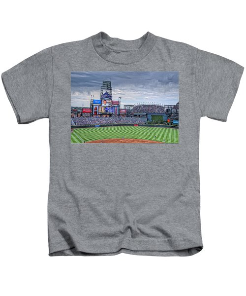 Coors Field Kids T-Shirt