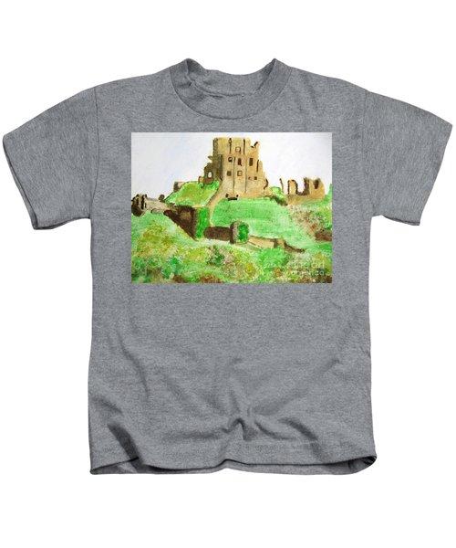 Corfe Castle Kids T-Shirt