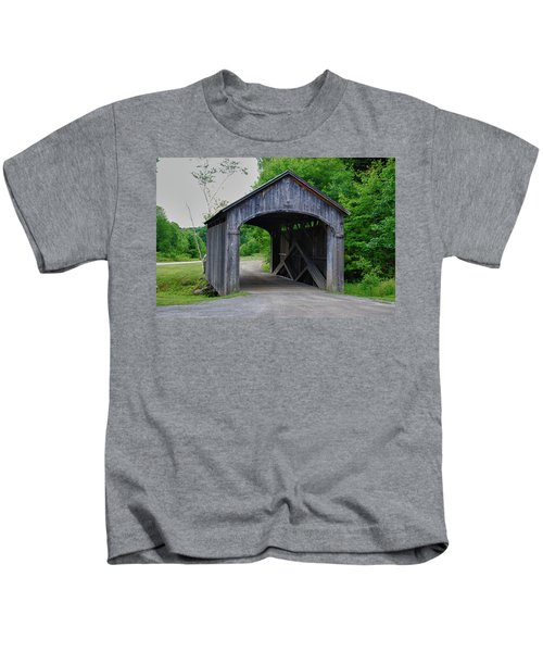 Country Store Bridge 5656 Kids T-Shirt