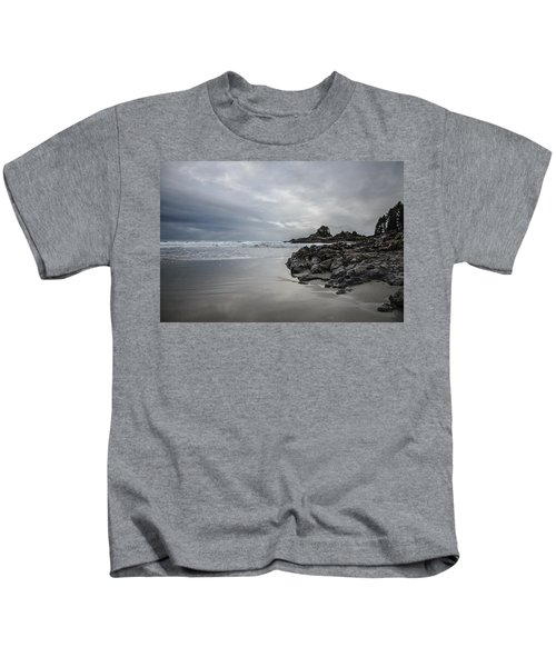 Cox Bay Afternoon  Kids T-Shirt