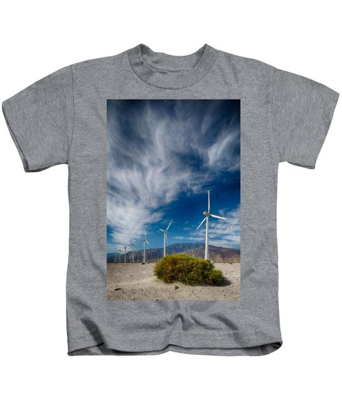 Creosote And Wind Turbines Kids T-Shirt