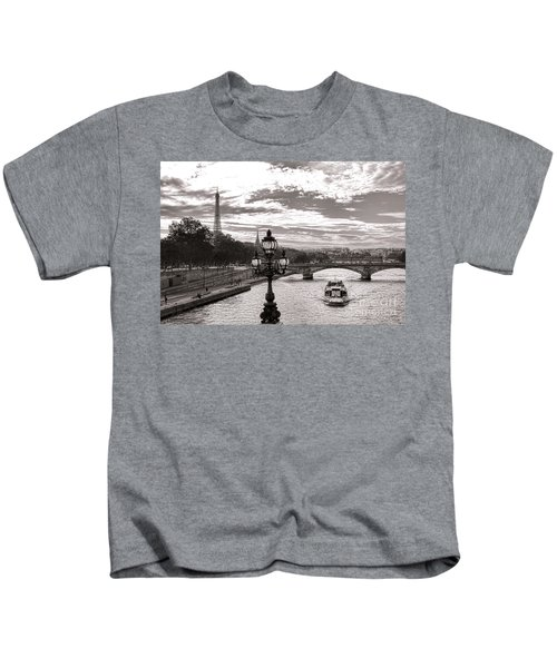 Cruise On The Seine Kids T-Shirt