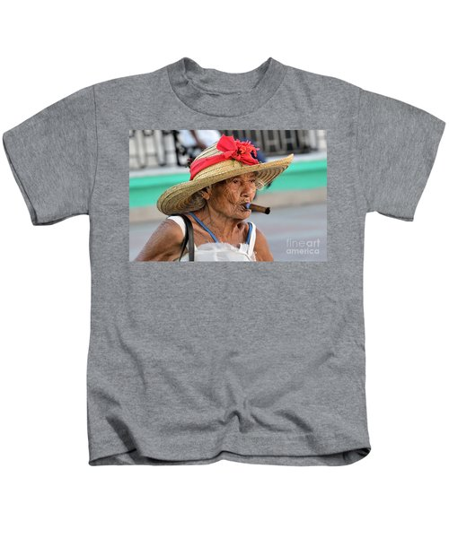 Cuban Lady Kids T-Shirt