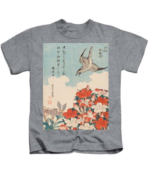 Cuckoo And Azaleas Kids T-Shirt