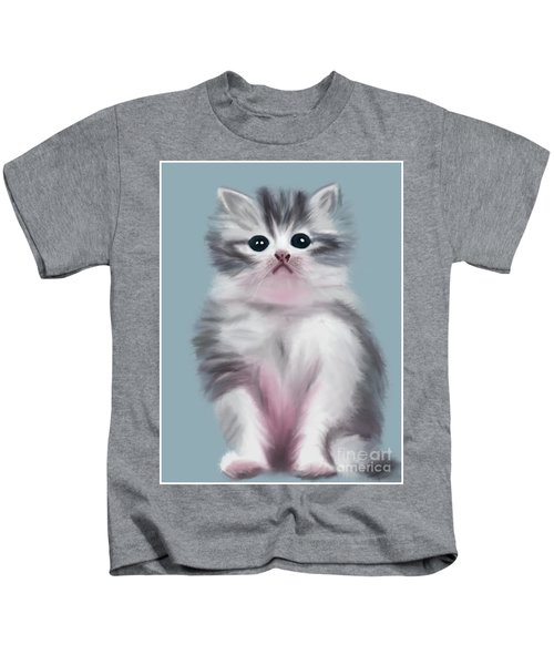 Cute Kitten Kids T-Shirt