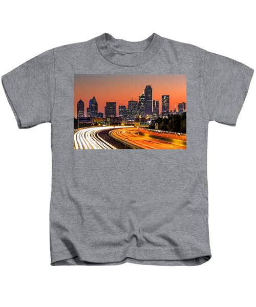 Dallas Sunrise Kids T-Shirt