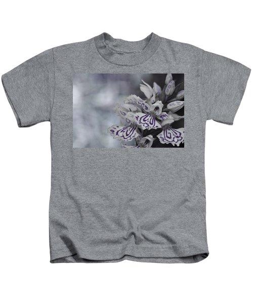 Dark Angel Of Flowers Kids T-Shirt
