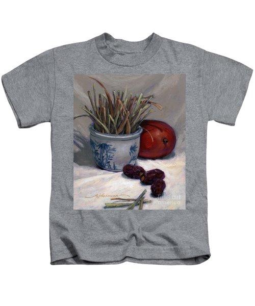 Dates Lemongrass And Mango Kids T-Shirt
