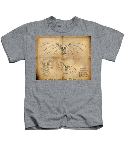 Davinci's Wings Kids T-Shirt