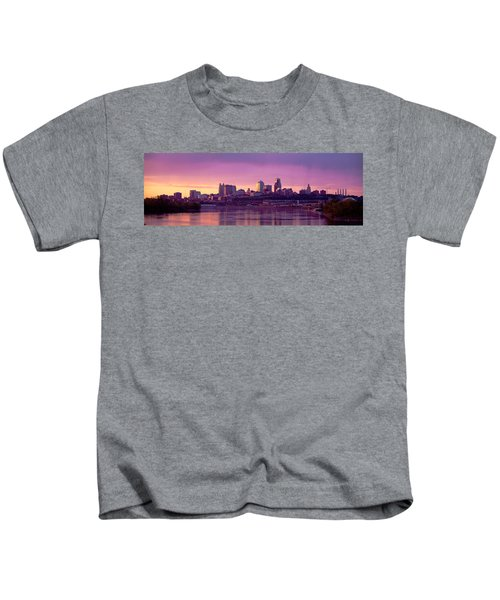 Dawn Kansas City Mo Kids T-Shirt