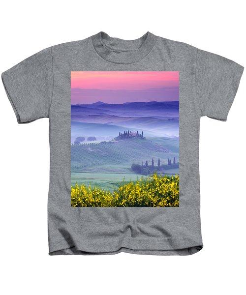 Dawn Over Belvedere Kids T-Shirt