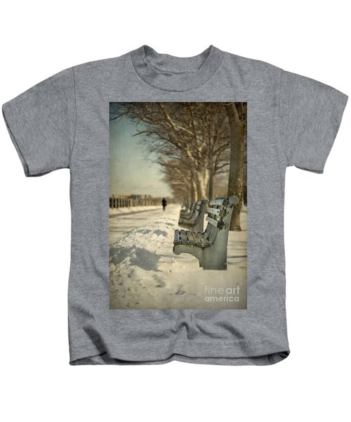 Days Of Cold Chills Kids T-Shirt