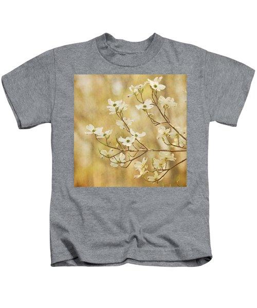 Days Of Dogwoods Kids T-Shirt