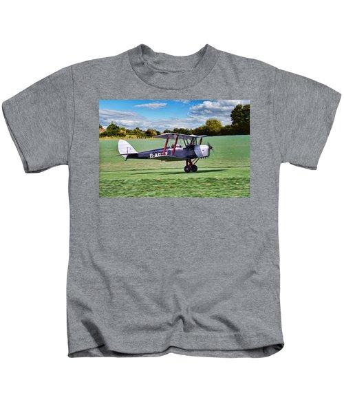 De Havilland Tiger Moth Kids T-Shirt