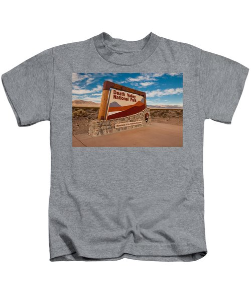 Death Valley Entry Kids T-Shirt