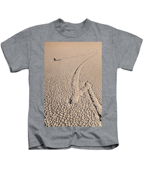 Death Valley Racetrack California Kids T-Shirt