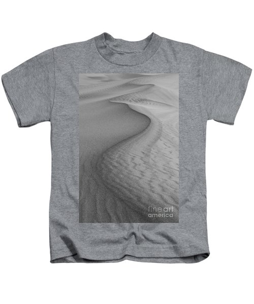 Death Valley Sand Dunes Kids T-Shirt by Juli Scalzi