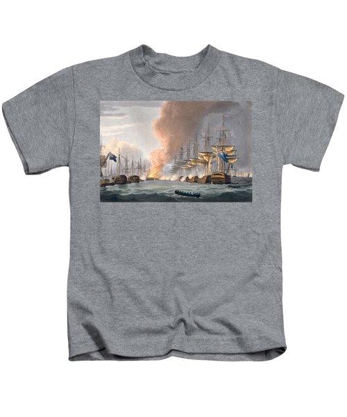 Destruction Of The Danish Fleet Kids T-Shirt