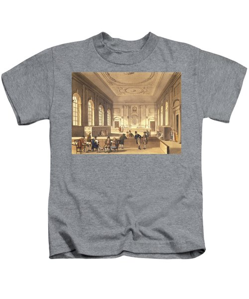 Dividend Hall At South Sea House Kids T-Shirt