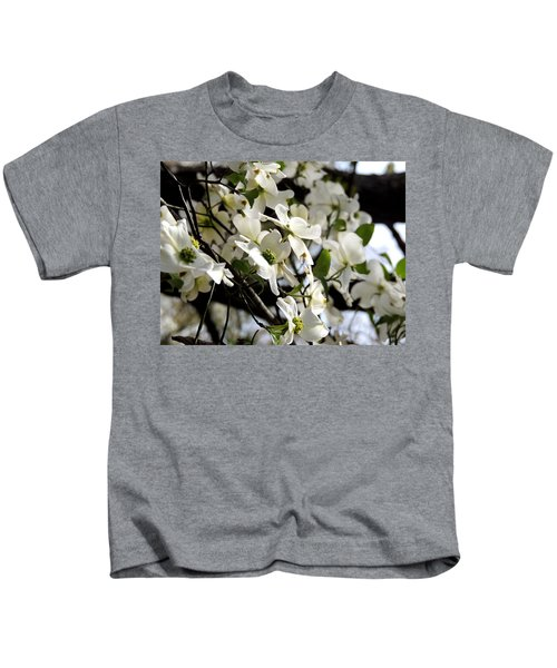 Dogwoods In The Spring Kids T-Shirt