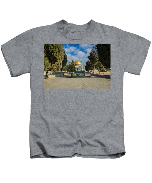 Dome Of The Rock Kids T-Shirt