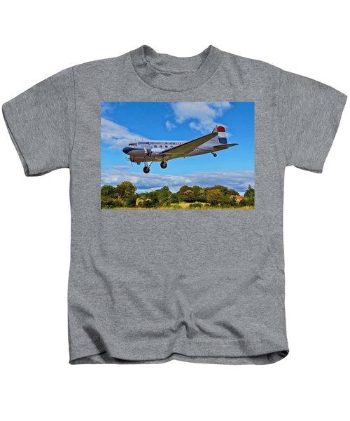 Douglas Dc3 Kids T-Shirt