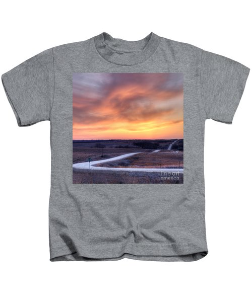 Down To The Rolling Hills Kids T-Shirt