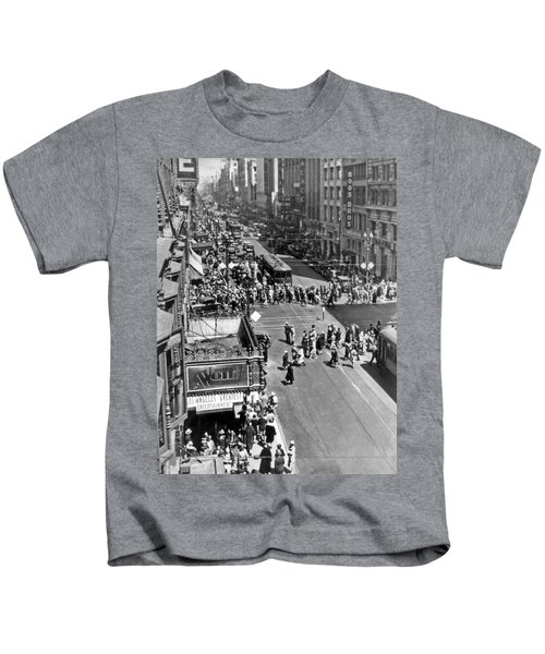 Downtown Los Angeles Kids T-Shirt