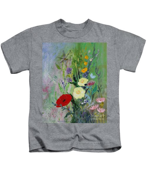 Dragonflies Dancing Kids T-Shirt
