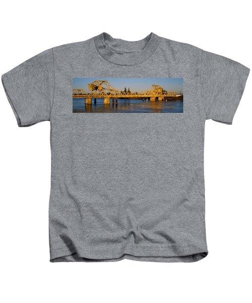 Drawbridge Across A River, The Kids T-Shirt