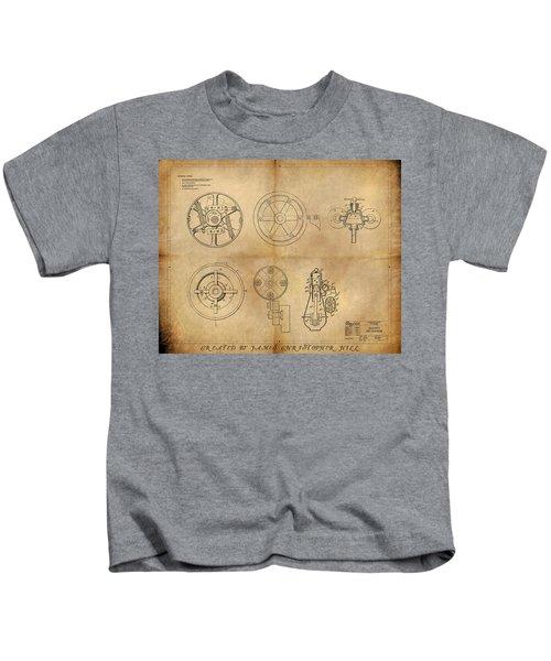 Drive Mechanism Kids T-Shirt