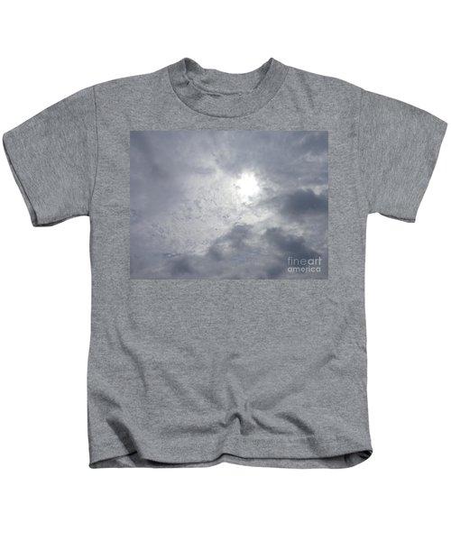 Duck In Beautiful Sky Kids T-Shirt