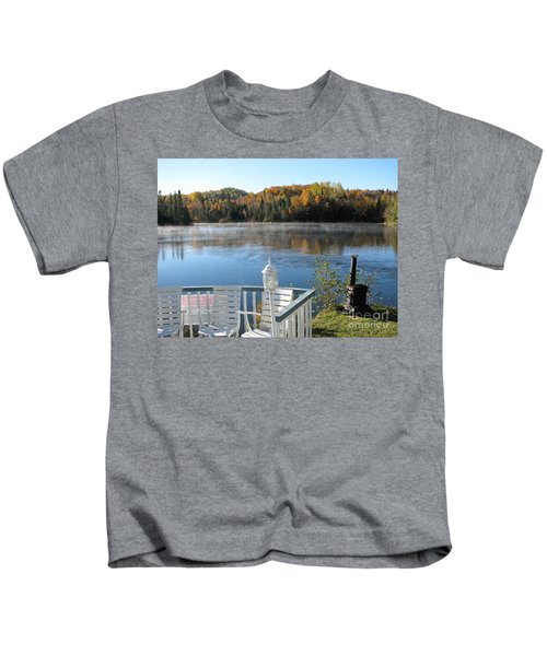 Early Autumn Morning Kids T-Shirt