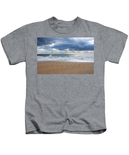 Earth's Layers - Jersey Shore Kids T-Shirt