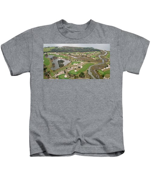 East Coast Georgia Golf Course Kids T-Shirt