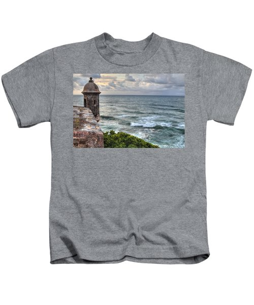 El Morro Sunset Kids T-Shirt