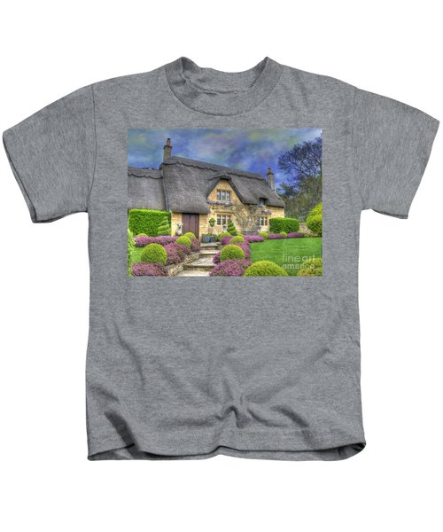 English Country Cottage Kids T-Shirt