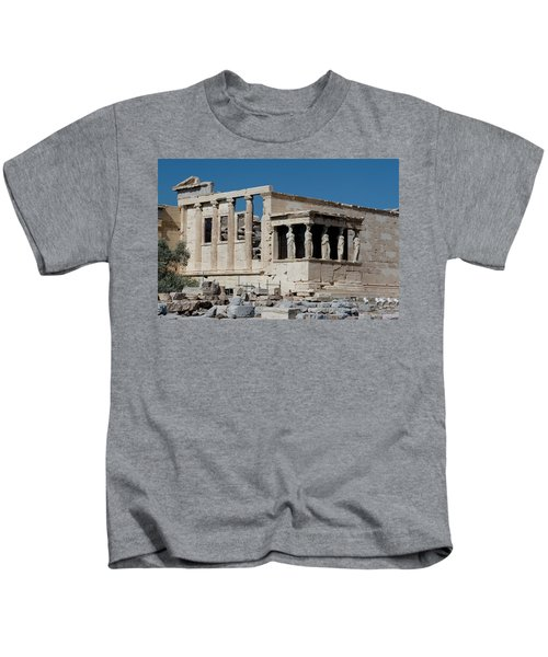 Erechtheion With The Porch Of Maidens Kids T-Shirt