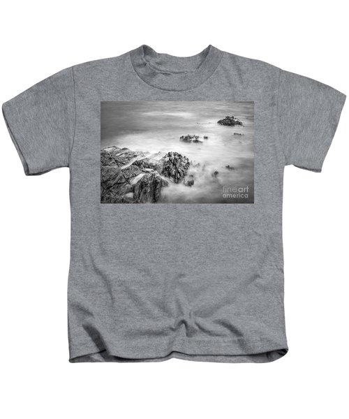 Estacas Beach Galicia Spain Kids T-Shirt