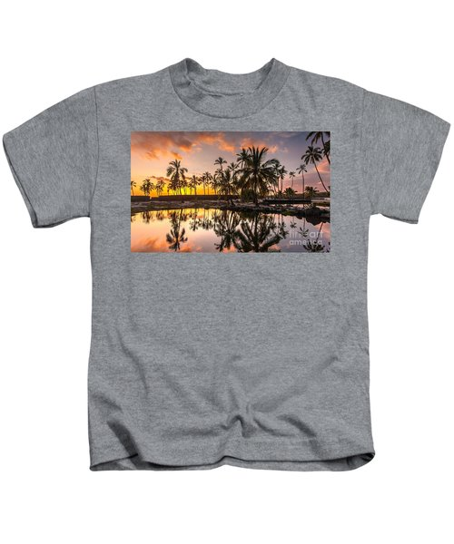 Evening In Paradise Kids T-Shirt