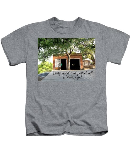 Every Good And Perfect Gift Kids T-Shirt
