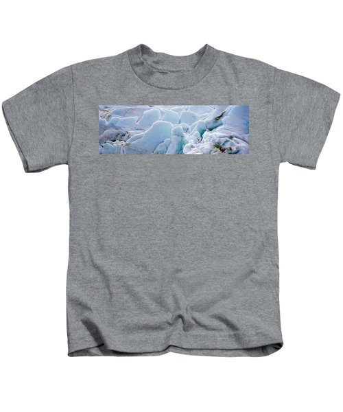 Exit Glacier At Harding Ice Field Kids T-Shirt