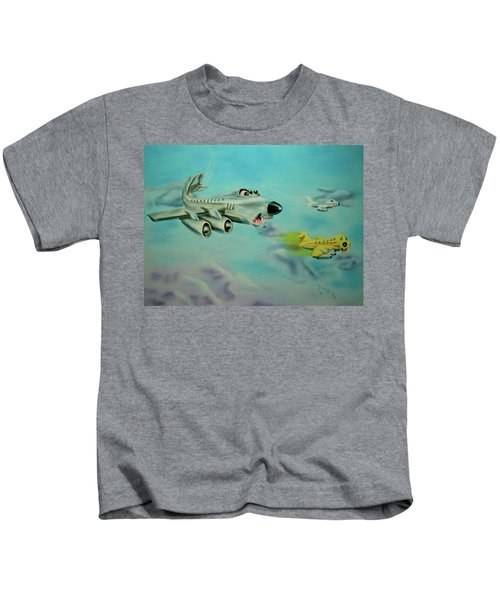 Extreme Airline Mergers Kids T-Shirt