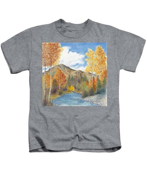 Fall Aspens Kids T-Shirt